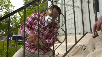 Paint Metal Railing, Wine Rack | Ask TOH