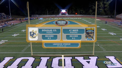 Football Fridays In Georgia: Douglas Co. vs. Mays