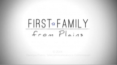 First Family From Plains