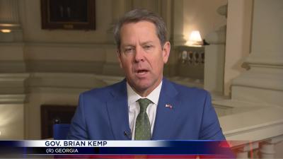 Governor Kemp Interview on Coronavirus