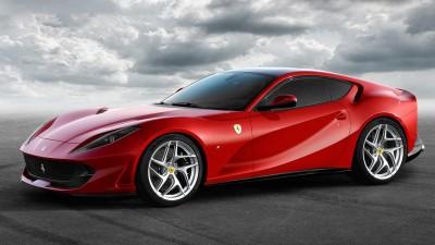 2018 Ferrari 812 Superfast & 2018 Jaguar E-PACE