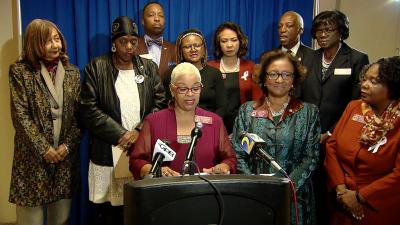 GA Legislative Black Caucus Pre-Sine Die Press Conference