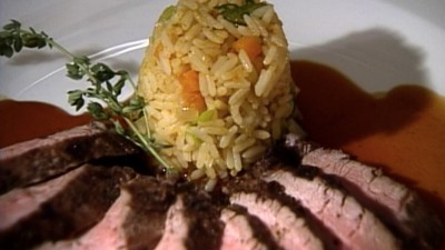 Grilled Pork Tenderloin with Mark Militello