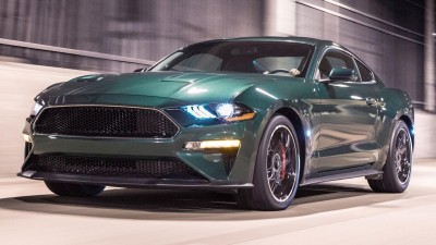 2019 Ford Mustang Bullitt & 2019 Bentley Continental GT