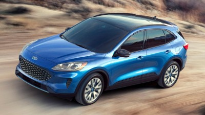 2020 Ford Escape & 2020 Porsche 911