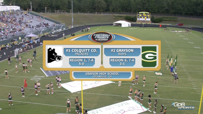Colquitt County vs. Grayson High School (09/21/18)