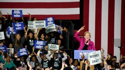 Elizabeth Warren Pays Homage To Black Women In Atlanta Speech