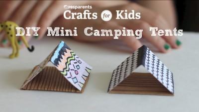 DIY Mini Tents