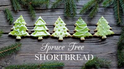 Spruce Tree Shortbread