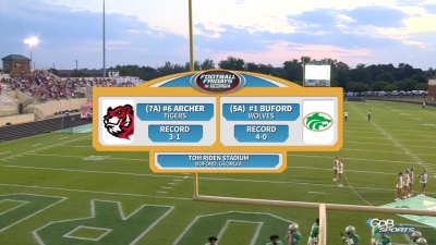 Football Fridays In Georgia: Archer vs. Buford