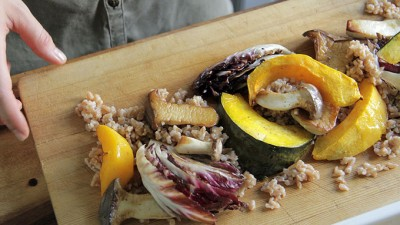 Veggie Showstopper with Mushrooms & Farro