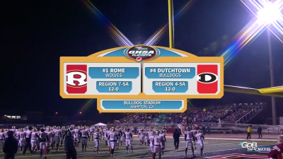 Rome Wolves vs. Dutchtown Bulldogs (11/23/18)