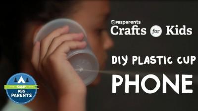DIY Plastic Cup Phones