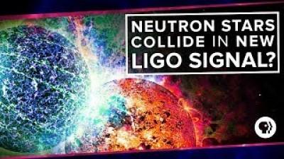 Neutron Stars Collide in New LIGO Signal?