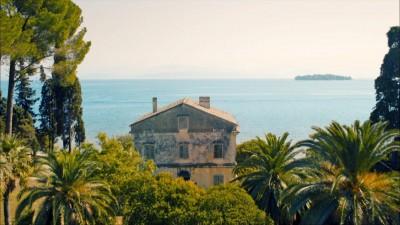 Filming in Corfu