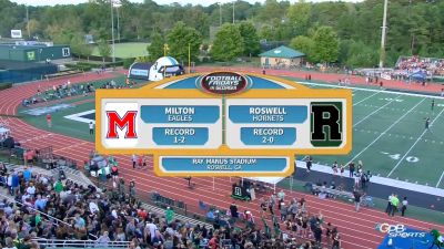 Football Friday's In Georgia: Milton vs. Roswell