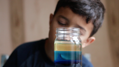 Make Ocean Zones in a Jar
