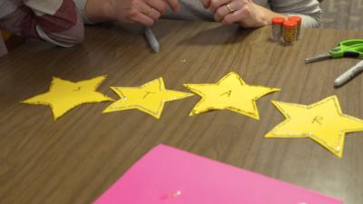 Twinkle Twinkle Letter Stars
