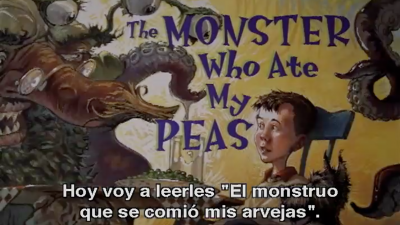 The Monster Who Ate My Peas (Espanol subs)