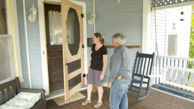 Custom Screen Door, Paint Trim | Ask This Old House