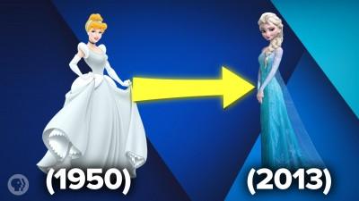 Why Do Disney Princesses All Look Like Babies?