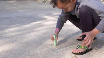 Play Letter Hopscotch