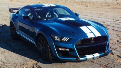 2020 Ford Mustang Shelby GT500 & 2019 Audi Q3