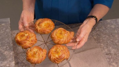 Making Individual Danishes from Danish Pastry Scraps