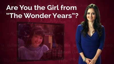 "Danica McKellar: Are You the Girl from ""The Wonder Years""?"