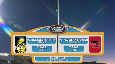 Blessed Trinity Titans vs. Flowery Branch Falcons (10/12/18)