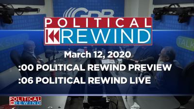 Political Rewind 03/12/20 2PM