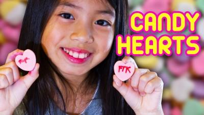 DIY Candy Hearts