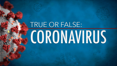 True Or False: Is Coronavirus Airborne?