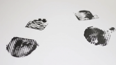 Make Mystery Footprints