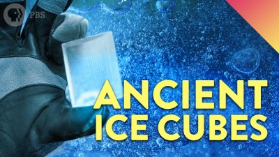 What's In a 20,000 Year-Old Cube of Ice?