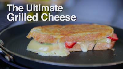 Strawberry Grilled Cheese Recipe