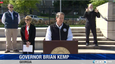 BREAKING: Kemp Will Issue Stay-At-Home Order, Close K-12 Schools Through End Of Semester