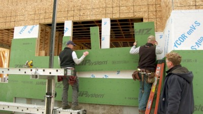 Ramp Up the R Value | The Jamestown Net-Zero House