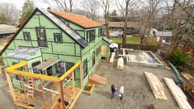 Modern Barn Raising | The Jamestown Net Zero House