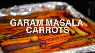 Garam Masala Carrots Recipe