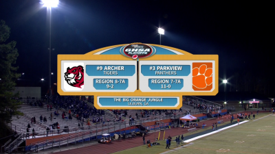 Archer Tigers vs. Parkview Panthers (11/16/18)