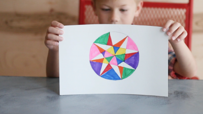 Create Circle Geometric Art