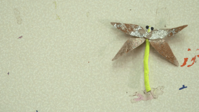 Craft a Nature Dragonfly