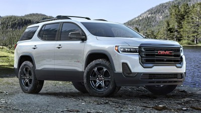 2020 GMC Acadia AT4 & 2020 Mercedes-Benz AMG GT R