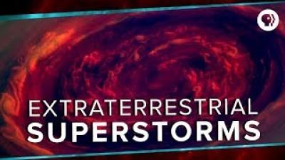 Extraterrestrial Superstorms