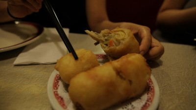 New York: The Nom Wah Egg Roll