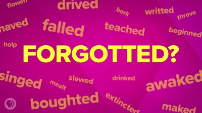 How Some Words Get Forgetted