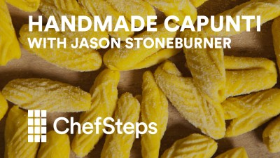 Capunti with Jason Stoneburner