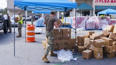 Hunger Still A Challenge A Month After Hurricane Michael