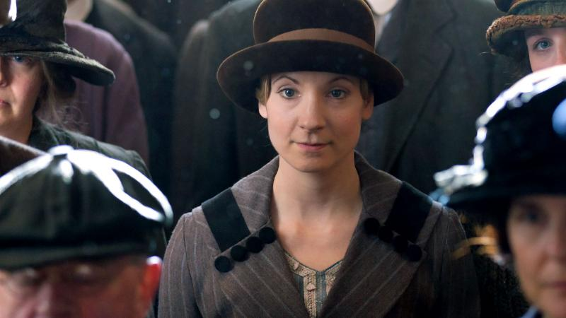 Joanne Froggatt as Anna Bates in Downtown Abbey